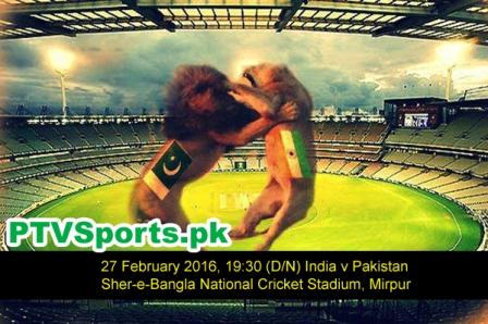 Pakistan vs India T20 Asia Cup 2016 Live Streaming Details